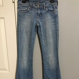 Citizens of Humanity low rise flare jeans
